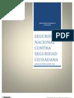 Seguridad Nacional Contra Seguridad Ciudadana - Final