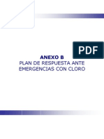 Anexo b Plan de Emergencias Ante Emergencias Con Cloro