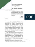A CONSTRUÇÃO DA IDENTIDADE DO PROFESSOR COMO PROFISSIONAL REFLEXIVO