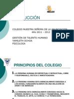 PRESENTACION  REINDUCCIÓN 2011-2012