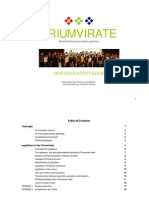 Legislators Guide 2010