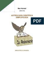 Astrología Científica Simplificada
