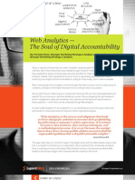 Web Analytics — The Soul of Digital Accountability