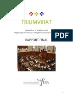 Rapport Final 2008