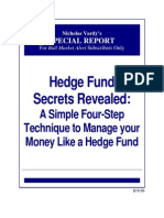 BMA Premium Hedge Fund Secrets Revealed