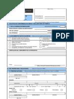Formulario Unico de Edificacion-FUE