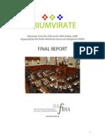 Final Report 2008