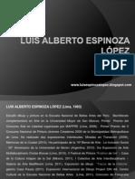 Portafolio artista Luis Alberto Espinoza López