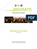 Roles Guide 2009