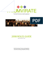 Roles Guide 2008