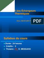 Calcul Ehangeurs  2011-12