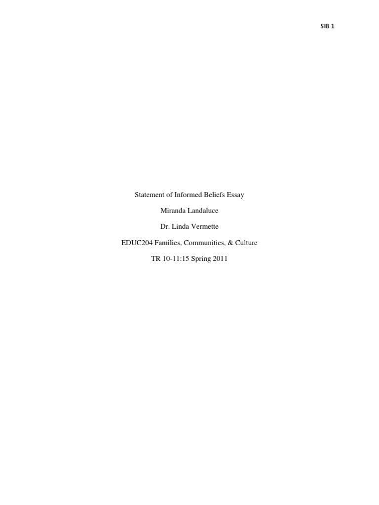 Scholarship Essay Format  Good Starting Sentences For An Essay also Rwandan Genocide Essay Statement Of Informed Beliefs Essay  Classroom  Goal Ishmael Essay
