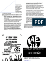 12 DE MAYO ASAMBLEA ESTUDIANTES LOGROÑO (fayers AE 12M-15M dObLe CaRa)