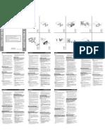 Pioneer DEH-P6800MP installation manual