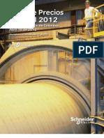 Lista de Precios Schneider 2012