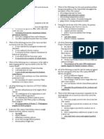 AP U.S. Unit 5 Exam + Answers