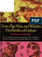 Marvin Cows, Pigs, Wars, And Witches the Riddles of Culture -Random House(1974)