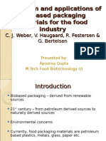 Production and Applications of Bio-based Packaging Materials For