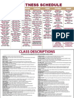 MSC May 2012 Fitness Schedule