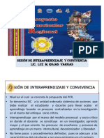 SESION DE INTERAPRENDIZAJE