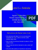 list C++