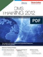 Telecoms Academy Telecoms Training 2012