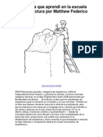 101 Cosas que aprendí en la escuela de arquitectura por Matthew Federico - 5 estrellas revisión