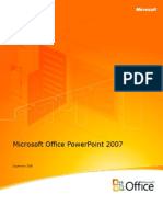 Power Point 2007 Product Guide