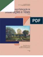 Normas para elaboração de dissertação e tese