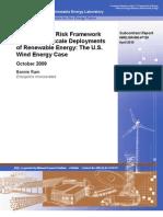 Ram Integrated Risk Framework 2009_NREL