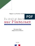 drroits et liberté internetr