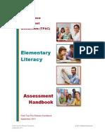 TPA - Elementary Literacy