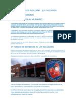 Municipio Los Alcazares. Recursos. Bomberos.