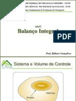 9 Balanco Integral - Aula 7