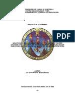 Plan de Investigacion Seminario 2009
