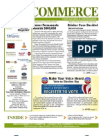 Commerce Newsletter May 2012