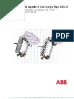 Cortacircuitos Fusible 34.5KV 200A