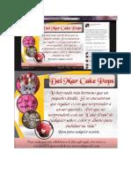 Cake Pops Promoción y Anuncio