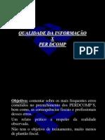 CUIDADOS - PERDCOMP