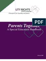 DRNC Parents Together Special Ed Handbook