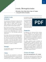 Atelectasia - bronquiectasia