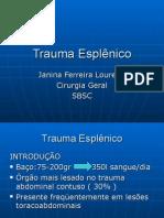 Trauma Esplenico