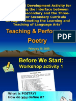 Teaching and Performing Poetry_20060225seed Network