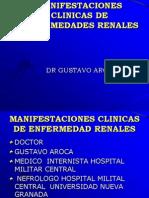 Manifestaciones Clinicas de Enfermedades Renales..