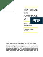 Editorial en Confianza