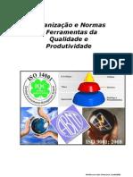 Organização e Normas e Ferramentas da Qualidade e Produtividade