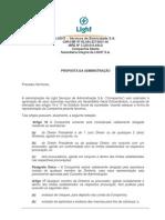 Proposta Da Administracao AGE LSESA 05.081208v2