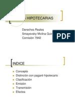 LETRAS HIPOTECARIAS