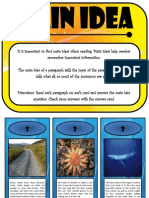 Main Idea Flip Cards - PREVIEW