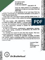Immortal Words of Leader Olumba Olumba Obu Book 1